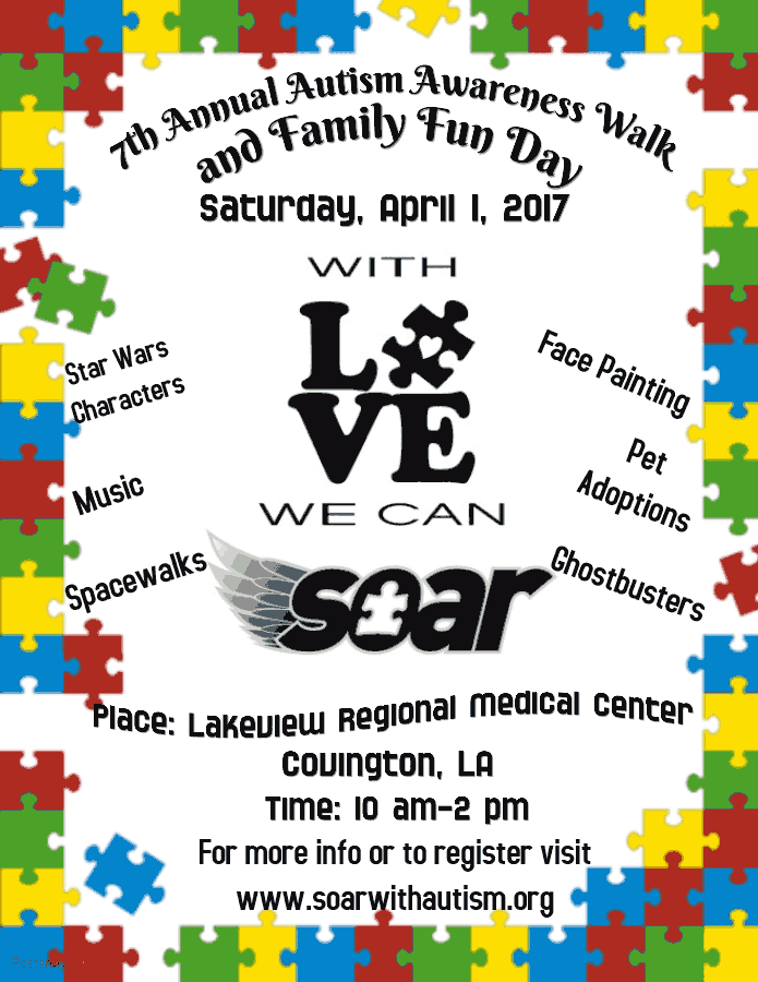 7th annual autism awareness event
